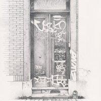 Jonathan Koshi: tag, porte, matita e carta.