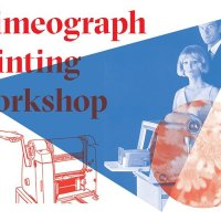Workshop di stampa con ciclostile