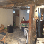 Basement Remodel - Before
