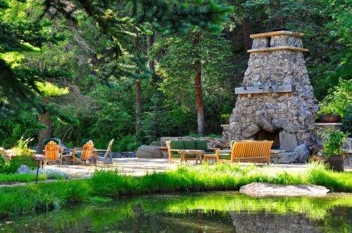 Medium Of Evergreen Landscape And Design