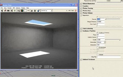 Irradiance in The Ultimate Collection Of Maya 3D Tutorials