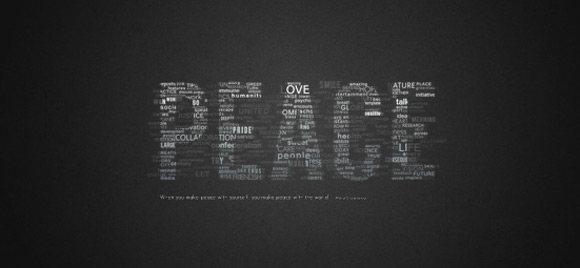 Great Typographic Wallpaper