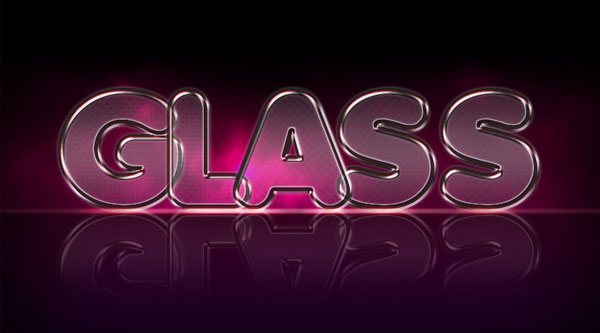 Create A Nifty Glass Text Effect