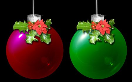 Christmas-glass in 60 Beautiful Christmas Photoshop Tutorials