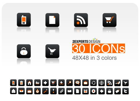 icon pack114 55 Free Social Networking PNG/ICO Icon Packs