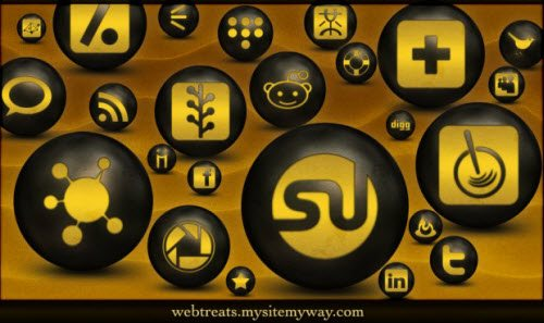 icon pack147 55 Free Social Networking PNG/ICO Icon Packs