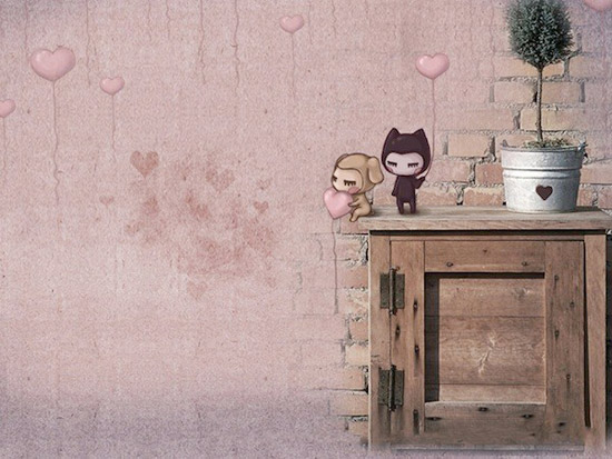 table Striking Cartoon Wallpapers to Customize Your Desktop