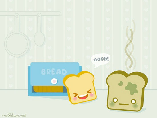 toasts death 3 wallpaper Striking Cartoon Wallpapers to Customize Your Desktop