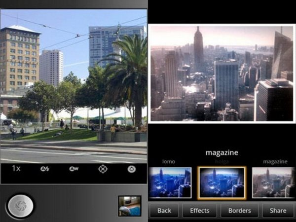 Camera Effects Android Apps for Designers