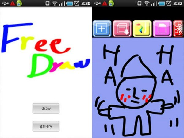 Free Draw Android Apps for Designers