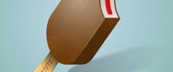 Illustrate A Delicious Ice Cream Bar
