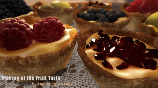 Fruit Tarts 35 Excellent Maya Tutorials For Beginners