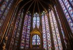 St Chapelle Stained Glass Window