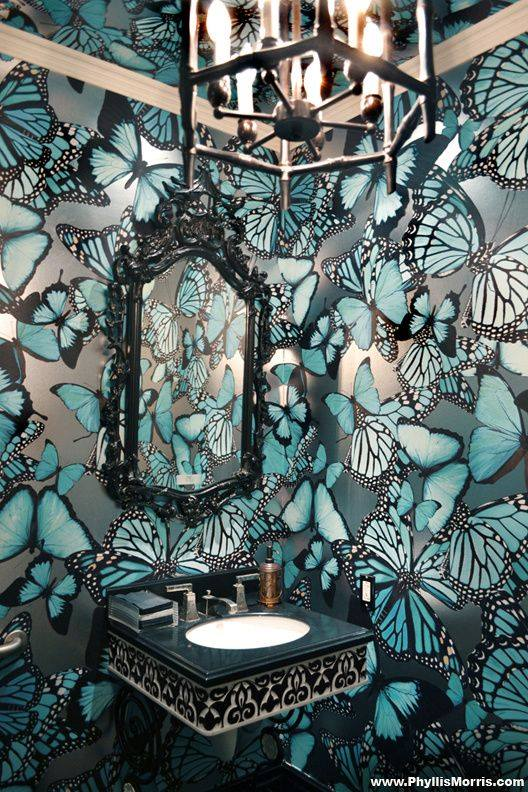 3d diy wall painting design ideas to decorate home for Butterfly design on wall