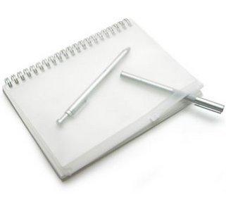 Muji Sketchbook w/pouch