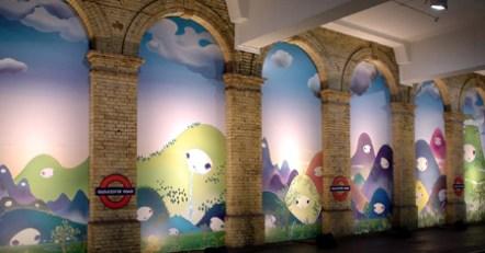subway art london