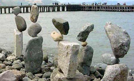 bill dan balancing rocks