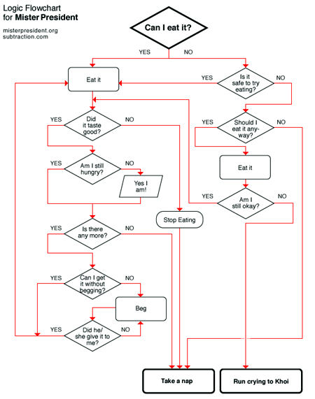 Dog Can I Eat Flow Chart