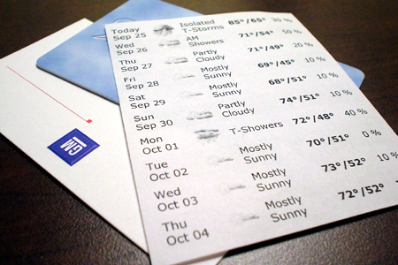 GM test drive detroit weather card Inn hotel st johns