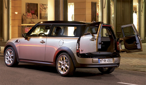 bmw mini cooper clubman 2008