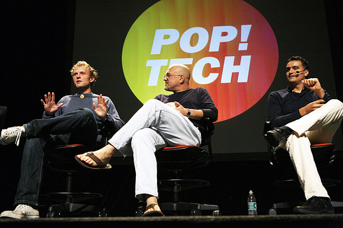 Poptech 2007 Camden Maine Jonathan Harris Dan Gilbert, Carl Honere