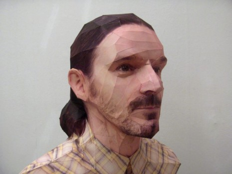 Bert Simons paper portraits