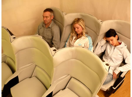 delta cozy airline seats