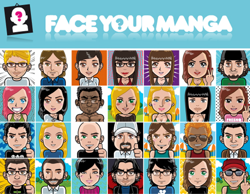 face your manga avatar