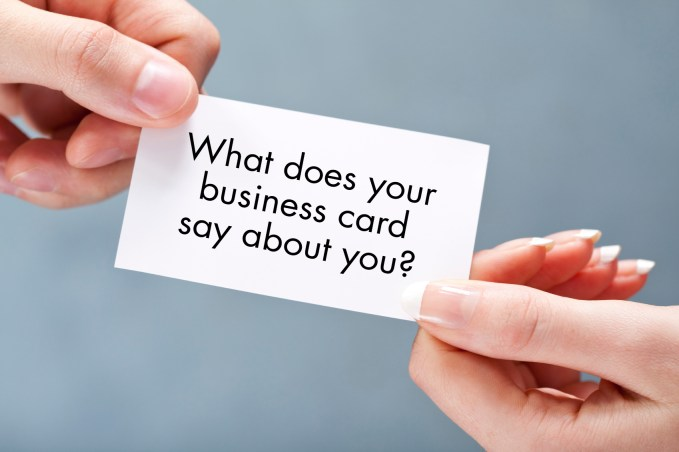 Design Networking Business Cards
