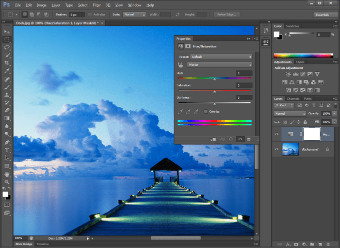 Photoshop Image Editing Software