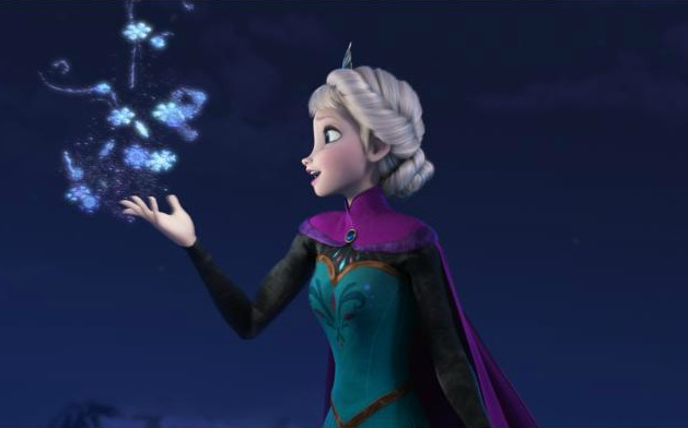 frozen elsa's magical powers