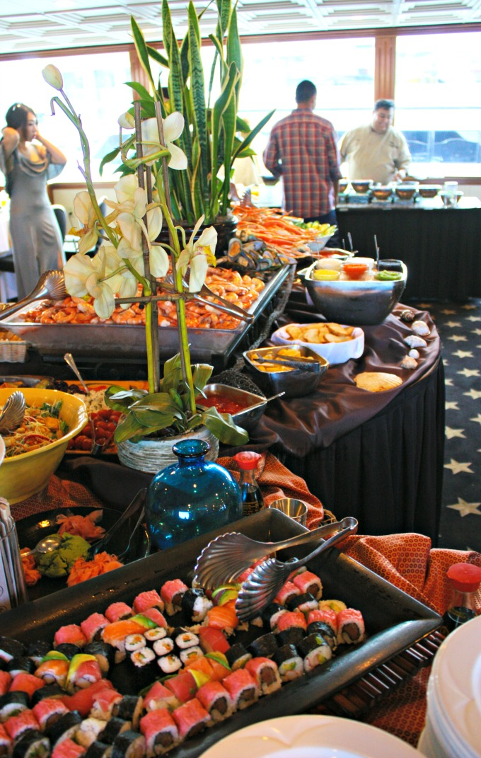 Seafood Buffet on Flagship Brunch Cruise
