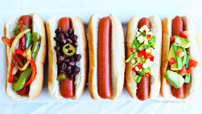 Hot-Dog-Topping-Bar