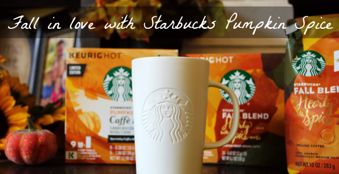 Fall in Love with Starbucks Fall Flavors at Home