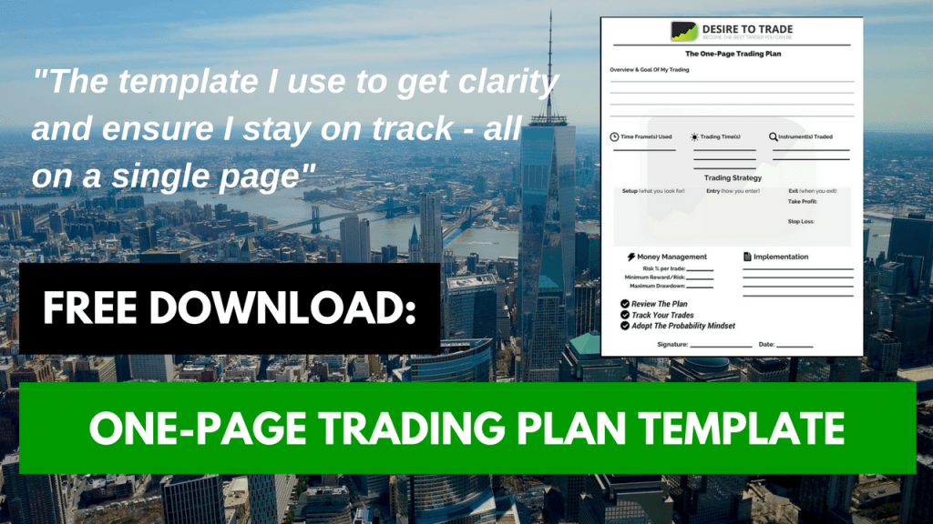 Download the one-page trading plan