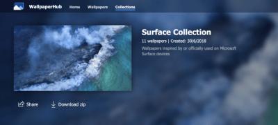 Wallpaper Hub - Collections als ZIP-Datei herunterladen | Deskmodder.de