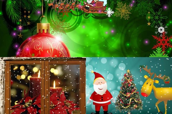 Happy Christmas Animated Wallpaper Preview