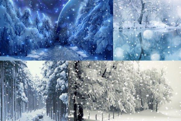 Let It Snow Animated Wallpaper Preview