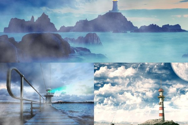 Lonely Lighthouse Animated Wallpaper Preview