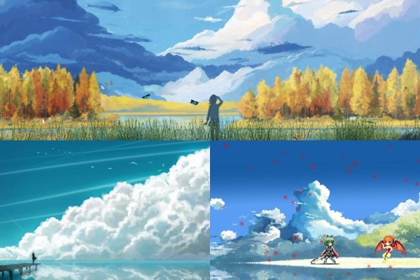 Manga Landscapes Animated Wallpaper Preview