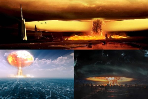 Nuclear Explosion Animated Wallpaper Preview
