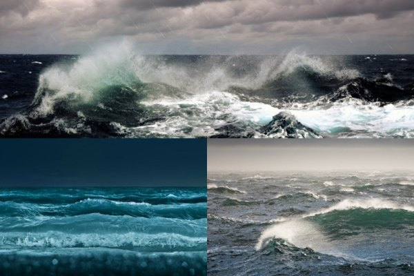 Ocean Waves Animated Wallpaper Preview