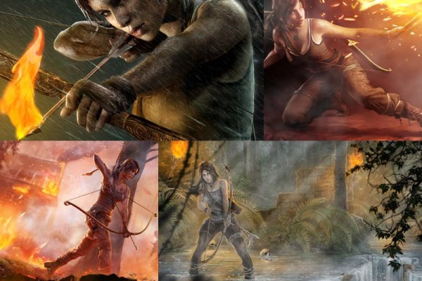 Tomb Raider Animated Wallpaper Preview