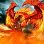 Fire Phoenix Animated Wallpaper