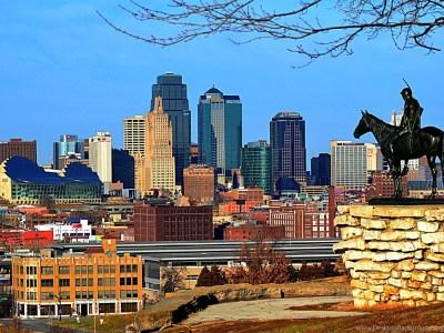 Kansas City Skyline Free Wallpapers Desktop Background