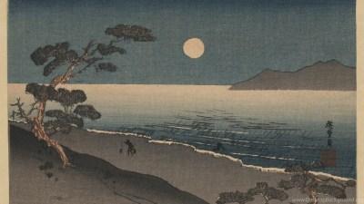 Wallpapers Ukiyo E Art Japanese Woodcut Old .2 1612x1080 ... Desktop Background