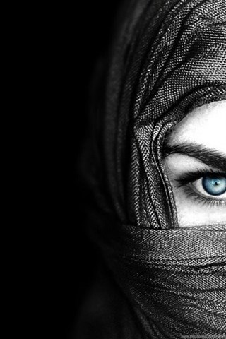 Hijab Black Wallpapers HD HT3 Desktop Background