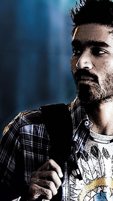 Dhanush South Actor Full High Definition Wallpapers Free Download ... Desktop Background