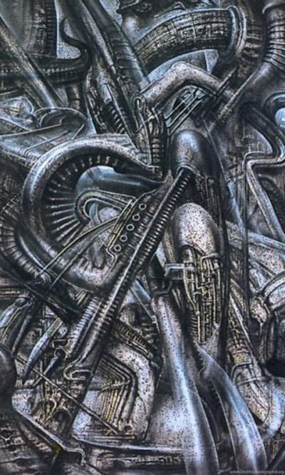 Newyorkcity Xxvi Science Fiction H R Giger Wallpapers Image Desktop Background