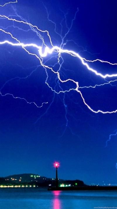 Download Dramatic Lightning Hd Live Wallpapers Free Download ... Desktop Background